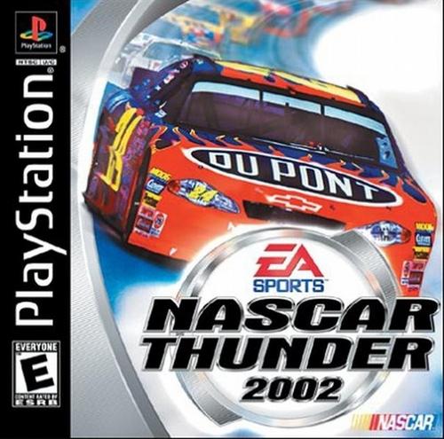 NASCAR Thunder 2002 - PlayStation - Used