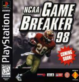 NCAA GameBreaker '98 - PlayStation - Used