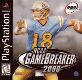 NCAA GameBreaker 2000 - PlayStation - Used