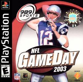 NFL GameDay 2003 - PlayStation - Used