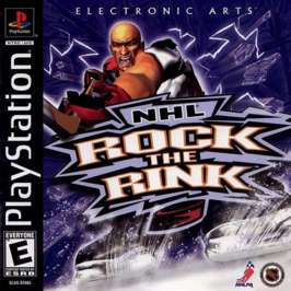 NHL Rock the Rink - PlayStation - Used