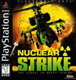Nuclear Strike - PlayStation - Used