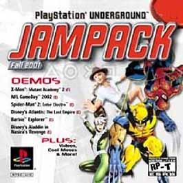 PlayStation Underground JamPack: Fall 2001 - PlayStation - Used