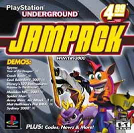 PlayStation Underground JamPack: Winter 2000 - PlayStation - Used
