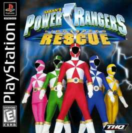 Power Rangers Lightspeed Rescue - PlayStation - Used