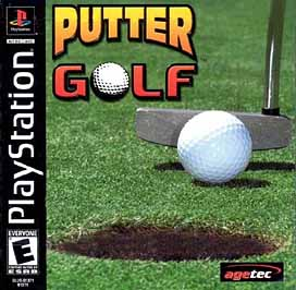 Putter Golf - PlayStation - Used
