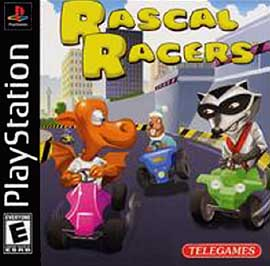 Rascal Racers - PlayStation - Used