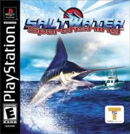 Saltwater Sportfishing - PlayStation - Used