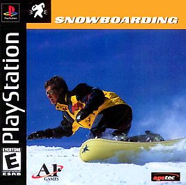 Snowboarding - PlayStation - Used