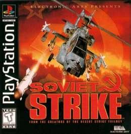 Soviet Strike - PlayStation - Used