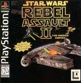 Star Wars: Rebel Assault II - The Hidden Empire - PlayStation - Used