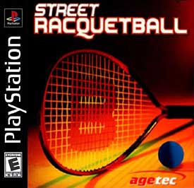 Street Racquetball - PlayStation - Used