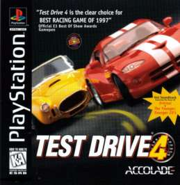 Test Drive 4 - PlayStation - Used