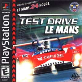 Test Drive Le Mans - PlayStation - Used