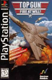 Top Gun: Fire At Will - PlayStation - Used