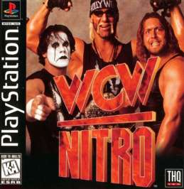 WCW Nitro - PlayStation - Used