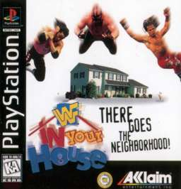 WWF In Your House - PlayStation - Used