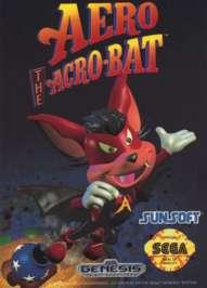 Aero the Acrobat - Sega Genesis - Used