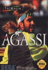 Andre Agassi Tennis - Sega Genesis - Used