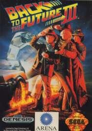 Back to the Future III - Sega Genesis - Used