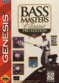 Bass Masters Classic: Pro Edition - Sega Genesis - Used
