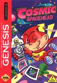 Cosmic Spacehead - Sega Genesis - Used