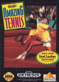 David Crane's Amazing Tennis - Sega Genesis - Used