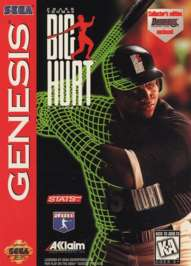 Frank Thomas: Big Hurt Baseball - Sega Genesis - Used