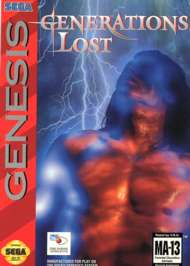 Generations Lost - Sega Genesis - Used
