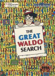 Great Waldo Search - Sega Genesis - Used