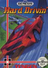 Hard Drivin' - Sega Genesis - Used