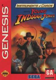 Instruments of Chaos Starring... Young Indiana Jones - Sega Genesis - Used