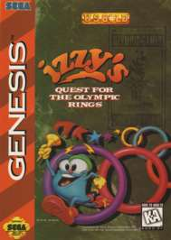 Izzy's Quest for the Olympic Rings - Sega Genesis - Used