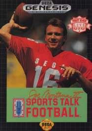 Joe Montana II Sports Talk Football - Sega Genesis - Used