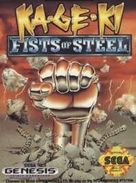 Ka-Ge-Ki: Fists of Steel - Sega Genesis - Used
