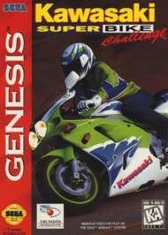 Kawasaki Superbike Challenge - Sega Genesis - Used