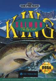 King Salmon: The Big Catch - Sega Genesis - Used