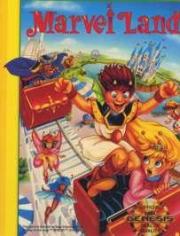 Marvel Land - Sega Genesis - Used