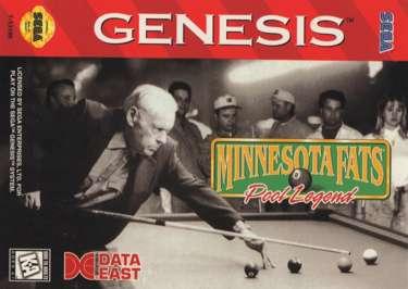 Minnesota Fats: Pool Legend - Sega Genesis - Used