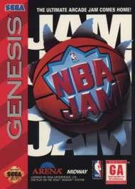 NBA Jam - Sega Genesis - Used
