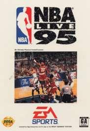 NBA Live '95 - Sega Genesis - Used