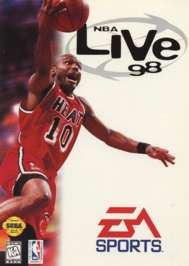 NBA Live '98 - Sega Genesis - Used