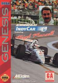 Newman Haas Indy Car featuring Nigel Mansell - Sega Genesis - Used