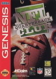 NFL Quarterback Club - Sega Genesis - Used