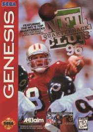 NFL Quarterback Club '96 - Sega Genesis - Used
