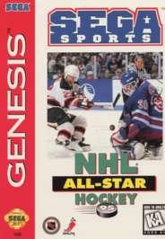NHL All-Star Hockey '95 - Sega Genesis - Used