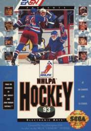 NHLPA Hockey '93 - Sega Genesis - Used