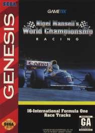 Nigel Mansell's World Championship Racing - Sega Genesis - Used