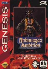 Nobunaga's Ambition - Sega Genesis - Used