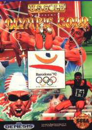 Olympic Gold: Barcelona '92 - Sega Genesis - Used